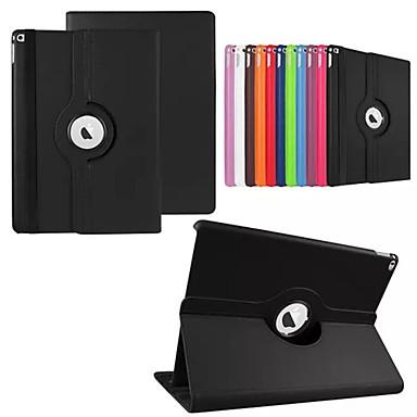 رخيصةأون أغطية أيباد-غطاء من أجل iPad Pro 12.9'' دوران360ْ / مع حامل / نوم / استيقاظ أتوماتيكي غطاء كامل للجسم لون سادة جلد PU