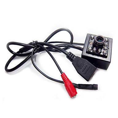 رخيصةأون كاميرات المراقبة IP-hqcam® 2.0 النائب 1080p مصغرة ir كاميرا IP داخلي 940nm الأشعة تحت الحمراء أدى كاميرا IP الثقب رؤية ليلية الكاميرا الصوت