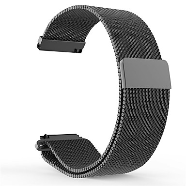voordelige Smartwatch-accessoires-Horlogeband voor Pebble Time / Pebble Time Steel / Pebble Time 2 Pebble Milanese lus Roestvrij staal Polsband