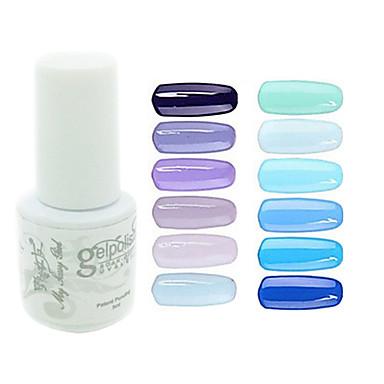 Lac de unghii cu gel UV 0.005 1 UV Color Gel Clasic Se înmoaie în afara de lungă durată Zilnic UV Color Gel Clasic Calitate superioară