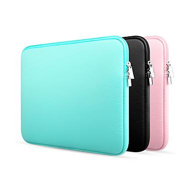 Недорогие Чехлы и кейсы для MacBook-Рукава Однотонный текстильный для MacBook Pro, 15 дюймов / MacBook Air, 13 дюймов / MacBook Pro, 13 дюймов