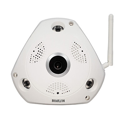 رخيصةأون كاميرات المراقبة IP-HOSAFE.COM SVR13MW1 1.3 ميغابايت داخلي with IR قطع أولي 32(ليلة نهار كشاف الحركة متريم مزدوج إذن بالدخول عن بعد والتوصيل والتشغيل إعداد