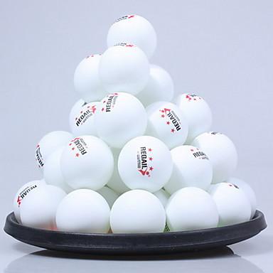 olcso Asztalitenisz-60db 3 Csillag Ping Pang / Asztalitenisz labda Műanyag Alacsony szélnyomás / Nagy szilárdság / Nagy rugalmasságú