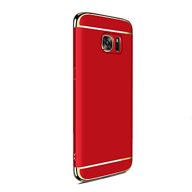 رخيصةأون حافظات / جرابات هواتف جالكسي J-غطاء من أجل Samsung Galaxy J7 Prime / J7 (2016) / J7 تصفيح غطاء خلفي لون الصلبة قاسي الكمبيوتر الشخصي