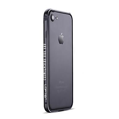 Недорогие Кейсы для iPhone 7 Plus-Кейс для Назначение IPhone 7 / iPhone 7 Plus / Apple Матовое Бампер Мультипликация / Панк Твердый Алюминий