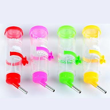 olcso Kiegészítők kisállatoknak-Rágcsálók / Nyulak / Csincsillák Műanyag Vízálló Tálak és vizespalackok Véletlenszerűen szín