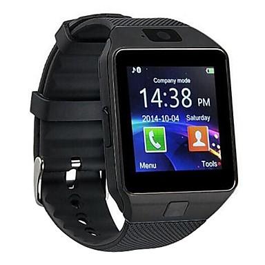 رخيصةأون ساعات ذكية-dz09 بلوتوث smartwatch بطاقة شاشة تعمل باللمس لتحديد المواقع والصورة تذكير ذكي لالروبوت و ios