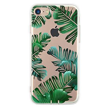 Недорогие Кейсы для iPhone 7 Plus-Кейс для Назначение Apple iPhone 7 Plus / iPhone 7 / iPhone 6s Plus Ультратонкий / С узором Кейс на заднюю панель дерево Мягкий ТПУ