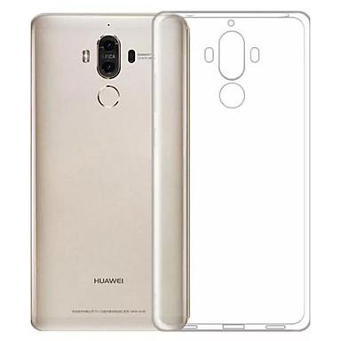Недорогие Кейсы для Huawei других серий-Кейс для Назначение Huawei Honor 6X / Mate 9 / Huawei Enjoy 6s Защита от пыли / Ультратонкий / Прозрачный Кейс на заднюю панель Однотонный Мягкий ТПУ