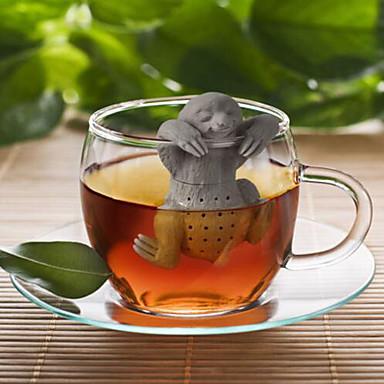 olcso Teázás kellékek-Szűrő Újdonságok Ajándék Mert Napi Kávé Tea Szilikon