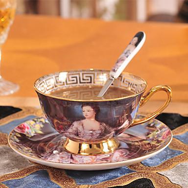 رخيصةأون أكواب و زجاجات-DRINKWARE أكواب الشاي / زجاجات المياه / أقداح القهوة خزفي المحمول حفلة شاي