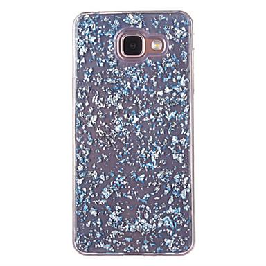 voordelige Galaxy A-serie hoesjes / covers-hoesje Voor Samsung Galaxy A5(2016) / A3(2016) Stofbestendig / Patroon Achterkant Glitterglans Zacht TPU