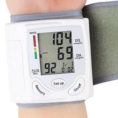 voordelige Gezondheidszorg-gezondheidszorg pols draagbare digitale automatische bloeddrukmeter