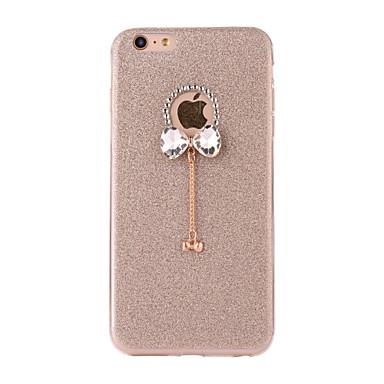 voordelige iPhone-hoesjes-hoesje Voor Apple iPhone 7 Plus / iPhone 7 / iPhone 6s Plus Mat / DHZ Achterkant Glitterglans Zacht TPU