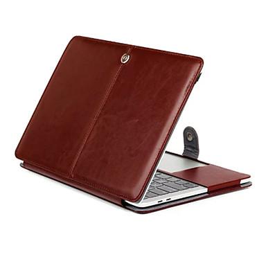 MacBook صندوق الأعمال التجارية / لون سادة جلد PU إلى MacBook Pro 13-inchمع شاشة ريتينا / MacBook Pro 15-inchمع شاشة ريتينا