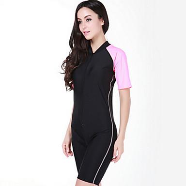 a2541facef84 SBART Dámské Potápěčská kombinéza SPF50 UV ochrana proti slunci  Rychleschnoucí Čínský nylon Krátký rukáv Plavky Oblečení na pláž Potápěčské  obleky Přední ...