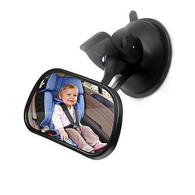 Недорогие Органайзеры для транспортных средств-ziqiao автомобиля заднее сиденье зеркало интерьер монитор младенца безопасности зеркало заднего вида