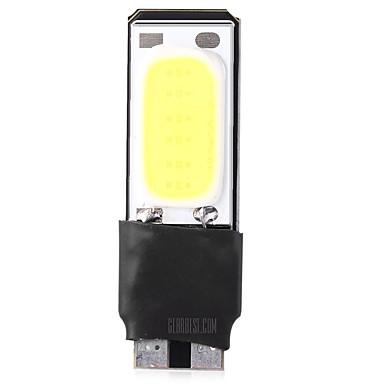 olcso Autó lámpák-1 darab T10 Autó Izzók 6W COB 420lm LED külső világítás