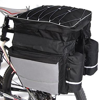 ieftine Genți Bicicletă-FJQXZ 64 L Genți Portbagaj Bicicletă / Coș Bicicletă Impermeabil de mână 3 în 1 Capacitate Înaltă Impermeabil Geantă Motor Poliester 600D Nylon Geantă Biciletă Geantă Ciclism Bicicletă șosea