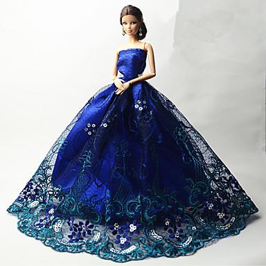 6ec5cf136712 Πάρτι   Απόγευμα Φορέματα Για Κούκλα Barbie Δαντέλα   Organza Φόρεμα Για Κορίτσια  κούκλα παιχνιδιών 5625233 2019 – €10.79