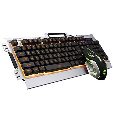 a412dbfd05c Mit Kabel Maustastatur kombiniert DPI Adjustable Hinterleuchtet USB-Anschluss  mechanische Tastatur 5602119 2019 – €14.99