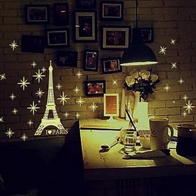 Adesivi decorativi da parete adesivi luminosi da parete for Stanza per ragazze