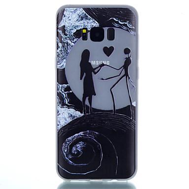 Недорогие Чехлы и кейсы для Galaxy S4 Mini-Кейс для Назначение SSamsung Galaxy S8 Plus / S8 / S7 edge Сияние в темноте / С узором Кейс на заднюю панель Пейзаж Мягкий ТПУ