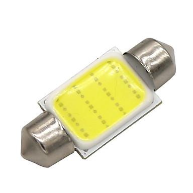 SO.K 10pcs T11 รถยนต์ Light Bulbs 3 W COB 120 lm LED ไฟภายใน สำหรับ