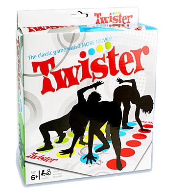 olcso Társasjátékok-Társasjátékok Twister játék Fejlesztő játék Professzionális Újdonságok Műanyag 1 pcs Gyermek Felnőttek Fiú Lány Játékok Ajándék