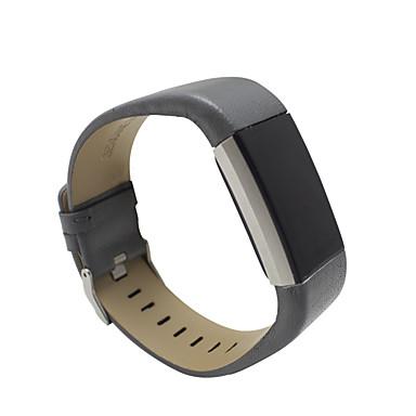 رخيصةأون أساور ساعات FitBit-حزام إلى Fitbit Charge 2 فيتبيت بكلة كلاسيكية / عقدة جلدية معدن / جلد شريط المعصم