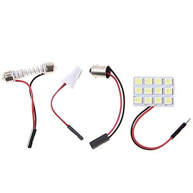 Недорогие Огни для авто-2pcs BA9S Автомобиль Лампы 4.5W SMD 5050 320lm Светодиодная лампа Внутреннее освещение