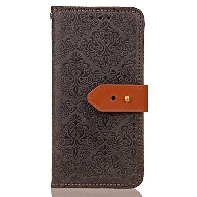 غطاء من أجل Samsung Galaxy S8 Plus / S8 / S7 edge محفظة / حامل البطاقات / مع حامل غطاء كامل للجسم لون سادة قاسي جلد PU