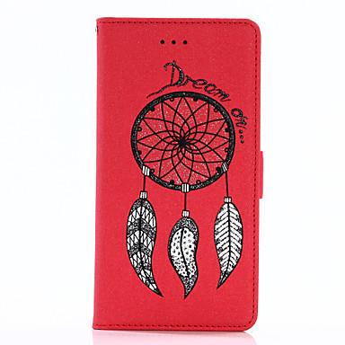 غطاء من أجل Samsung Galaxy A5(2017) / A3(2017) محفظة / حامل البطاقات / مع حامل غطاء كامل للجسم بريق لماع قاسي جلد PU إلى A3 (2017) / A5 (2017) / A7 (2017)
