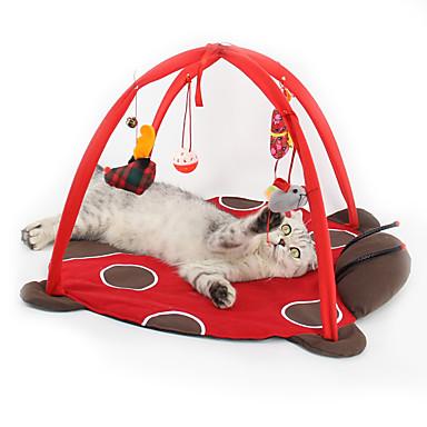 رخيصةأون لعب-لعب رقيق قط قطة صغيرة حيوانات أليفة ألعاب 1 قابل للطي كارتون قطيفة هدية