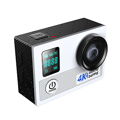 olcso Sport kamerák-NAWAY-N5B GoPro Szabadtéri felfrissülés videonapló Vízálló / Több funkciós / Wifi 32 GB 60fps / 30 fps (képkocka per másodperc) 20 mp 4X / 12x 4608 x 3456 Pixel 2 hüvelyk CMOS H.264 Állókép / Sorozat