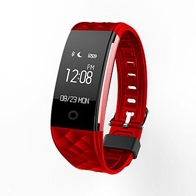 Недорогие Смарт-электроника-S21 Смарт Часы / Датчик для отслеживания активности / Умный браслет iOS / Android Защита от влаги / Спорт / Пульсомер Датчик частоты пульса ТПУ Белый / Черный / Красный / Израсходовано калорий