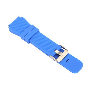 voordelige Smartwatch-accessoires-Horlogeband voor Gear S3 Frontier Gear S3 Classic Samsung Galaxy Sportband Klassieke gesp Metaal PU Polsband