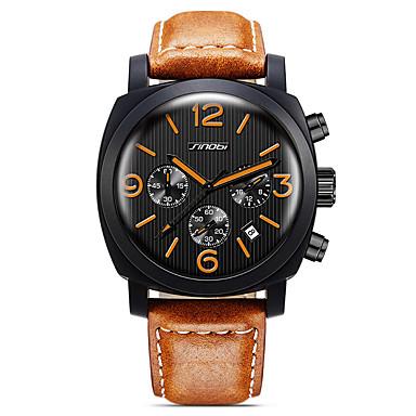 SINOBI Pánské Sportovní hodinky Módní hodinky Náramkové hodinky  KřemennýKalendář Voděodolné Stopky Svítící Odolný vůči nárazu Velký 5703553  2019 – €20.99 b958c966ce