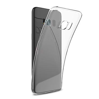 ASLING Θήκη Za Samsung Galaxy S8 Plus / S8 Ultra tanko / Prozirno Stražnja maska Jednobojni Mekano TPU za S8 Plus / S8