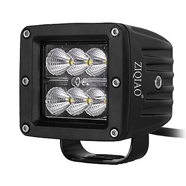 2499 Ziqiao 18w Led Oświetlenie Robocze Lampy Offroad Off Road Suv Doprowadziły światło Statkiem Do Ford F150 F250 Ciągnik Siodłowy Led Lampa