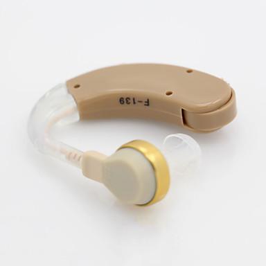Недорогие Все для здоровья и личного пользования-Аксон F-139 Объем BTE усиления усилителя регулируемый звук беспроводной слуховой аппарат