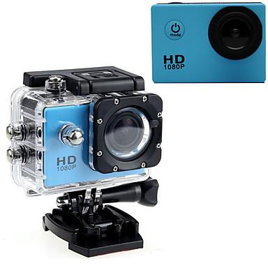 olcso Sport kamerák-Akciókamera / Sport kamera GoPro Szabadtéri felfrissülés videonapló Vízálló / USB / Állítható 32 GB 60fps 16 mp Nem 640 x 480 Pixel / 1920 x 1080 Pixel / 1280 x 720 Pixel Búvárkodás / Szörfözés / LED