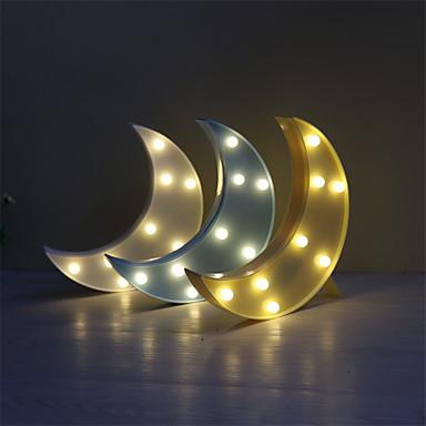 1db 3d éjszakai fény LED lámpa műanyag gyerek hálószoba éjjeli ...
