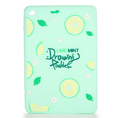 رخيصةأون أغطية أيباد-غطاء من أجل Apple iPad Mini 3/2/1 / iPad Mini 4 / Apple نموذج غطاء خلفي مأكولات / فاكهة ناعم سيليكون