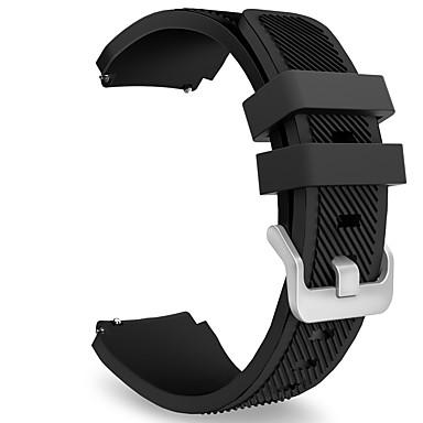 voordelige Smartwatch-accessoires-Horlogeband voor Gear S3 Frontier / Gear S3 Classic Samsung Galaxy Sportband Silicone Polsband