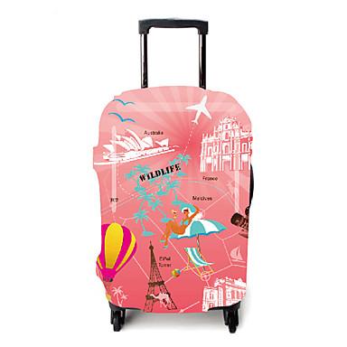 billige Reisevesker-Bagasjeovertrekk Støvtett polyester Rosa Reisetilbehør