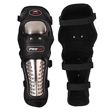 voordelige Beschermende uitrusting-Pro-biker 2 stuks / set RVS beschermende motor beschermende uitrusting motor knie pad gewricht voering metalen gesp