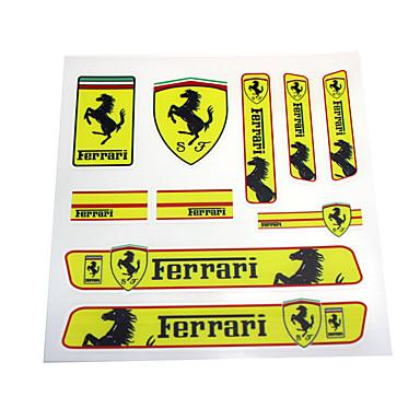 رخيصةأون الديكورات-Car Stickers الرياضات ملصقات السيارات الكاملة نص / عدد ملصقات