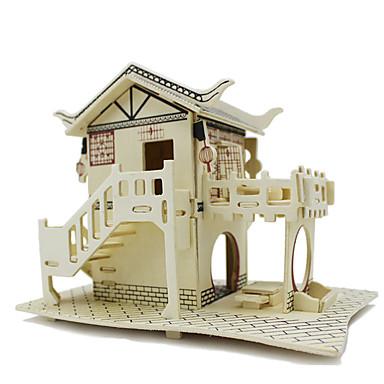 قطع تركيب3D لهو خشب كلاسيكي للأطفال للجنسين ألعاب هدية