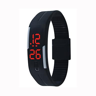 Недорогие Смарт-электроника-H2 Умный браслет Таймер / Защита от влаги / Спорт Силикон Зеленый / Синий / Розовый / LED